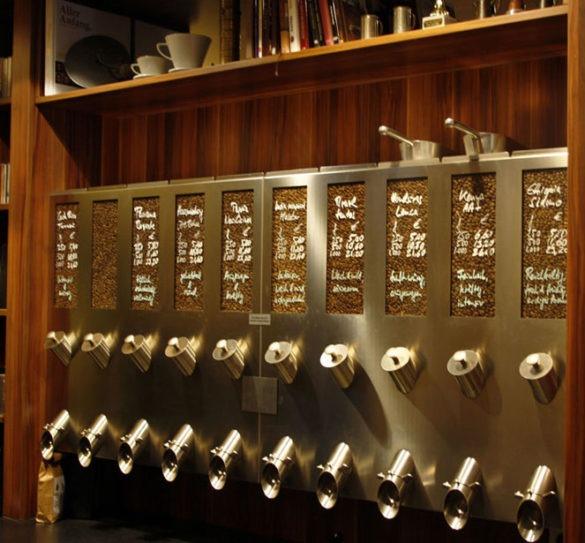 Unterwegs in Münster: Die Bohne -Kaffeerösterei