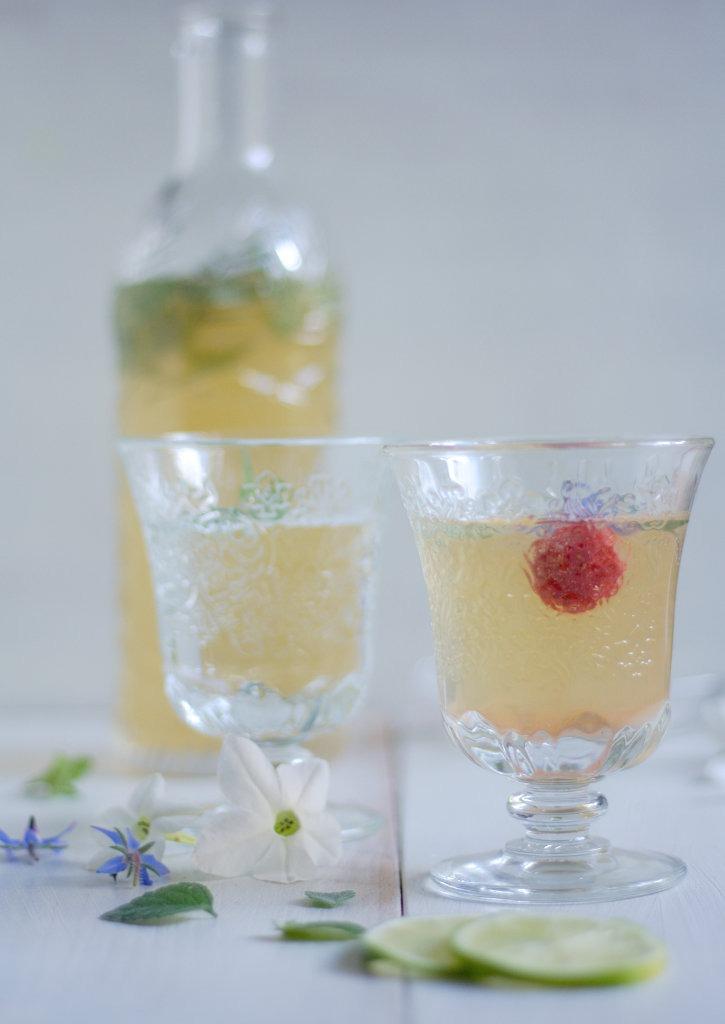 Limonade mit Limette