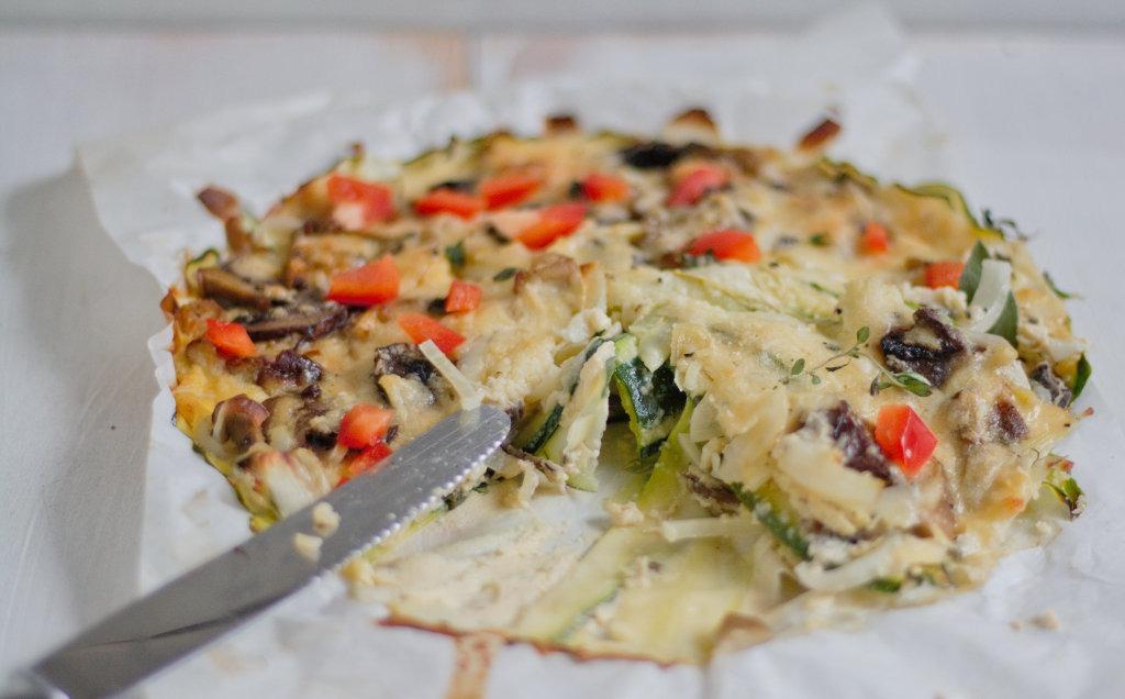 Pilz Zucchini Auflauf