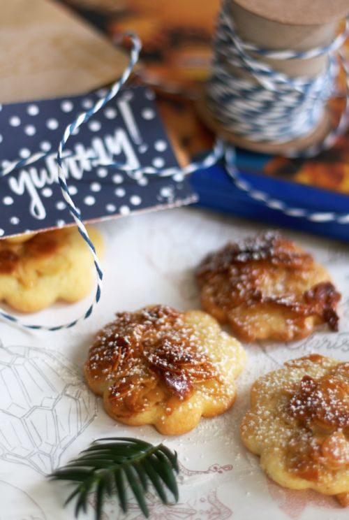 Einfache Weihnachtsplätzchen. Mache einen Plätzchenteig und bekomme 3 Weihnachtsplätzchen raus. Mandel-Honig-Plätzchen, Zitronen-Ingwer-Plätzchen, Schoko-Karamell-Plätzchen. Ausgefallene Plätzchen zu Weihnachten.