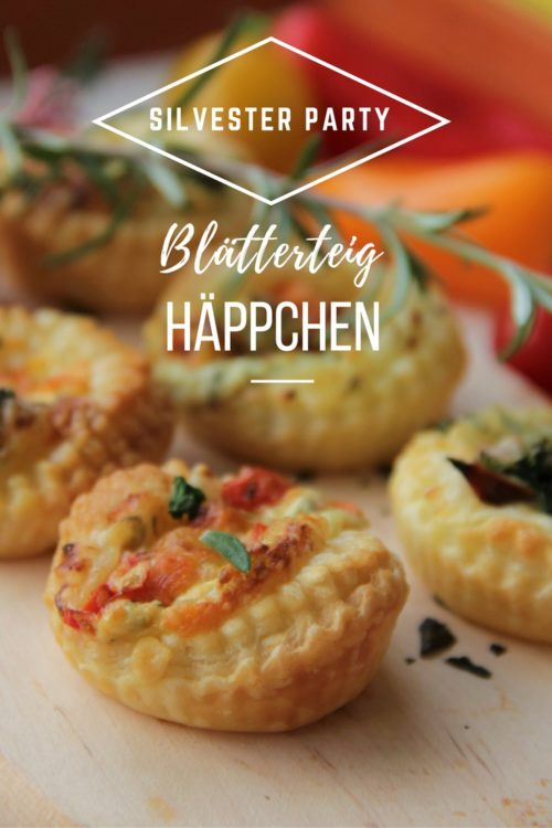 Rezept Blaetterteig Snacks Fingerfood Haeppchen