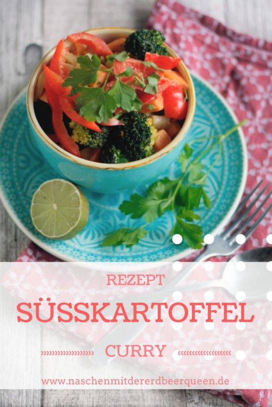 Rezept Süßkartoffel Curry vegetarisch