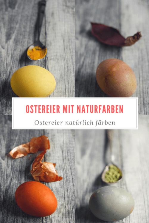 Ostereier mit Naturfarben färben. Anleitung für natürlich gefärbte Ostereier