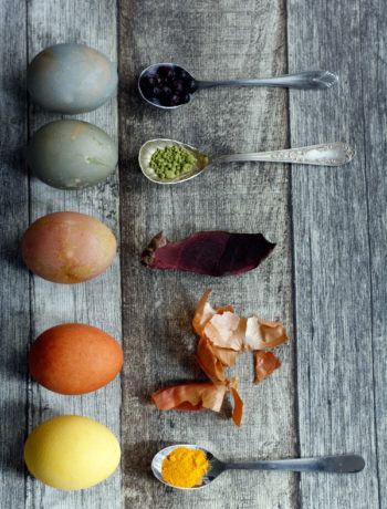 Ostereier mit Naturfarben färben: DIY für natürliche Ostereier