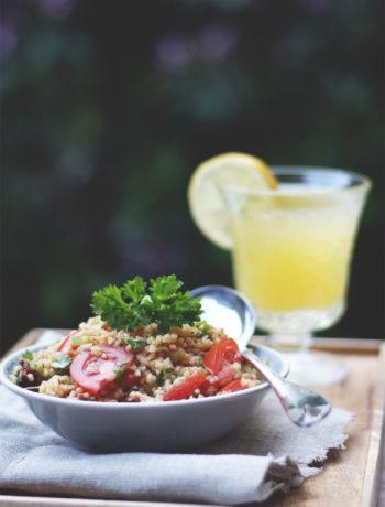 Rezept Bulgursalat mit getrockneten Tomaten einfacher Bulgursalat