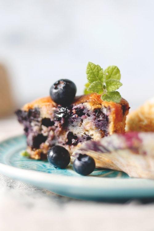 Muffins mit Blaubeeren backen. So gehts ganz einfach.