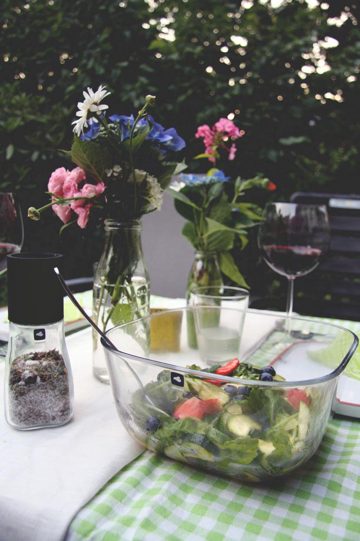 Rezepte zum Grillfest Salat Selbstgemachte Tomatenbutter und mehr