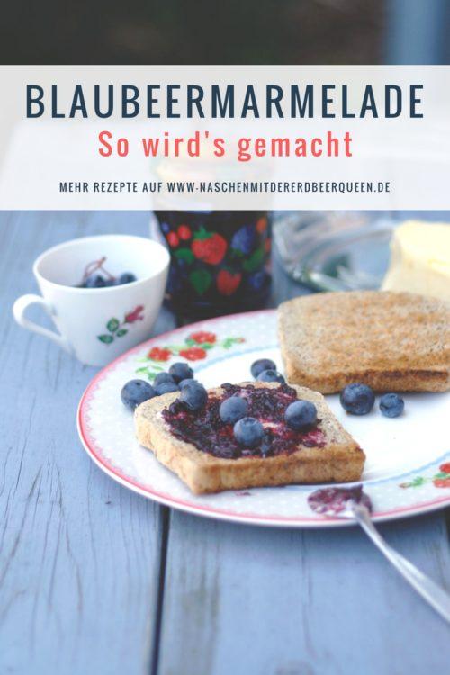 Heidelbeermarmelade kochen - So geht es- Rezept für Blaubeermarmelade