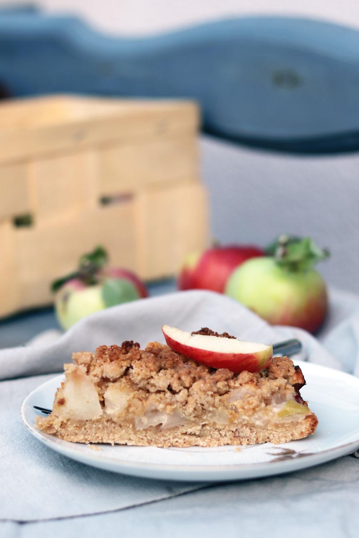 Einfaches Rezept Fur Apfelkuchen Mit Streuseln Und Schmand