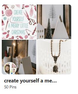 Pinterestboard weihnachten