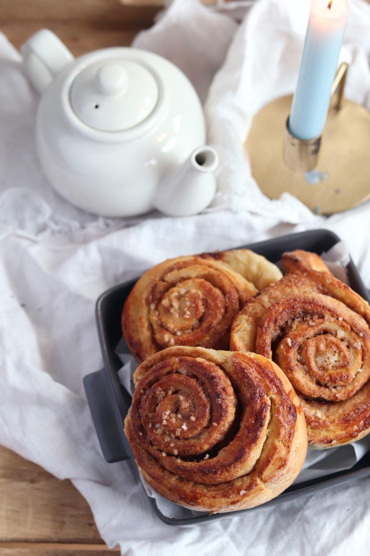 Saftige Zimtschnecken backen: Ein leckeres Rezept für Zimtschnecken. Schwedische Zimtschnecken für deinen Hyggemoment