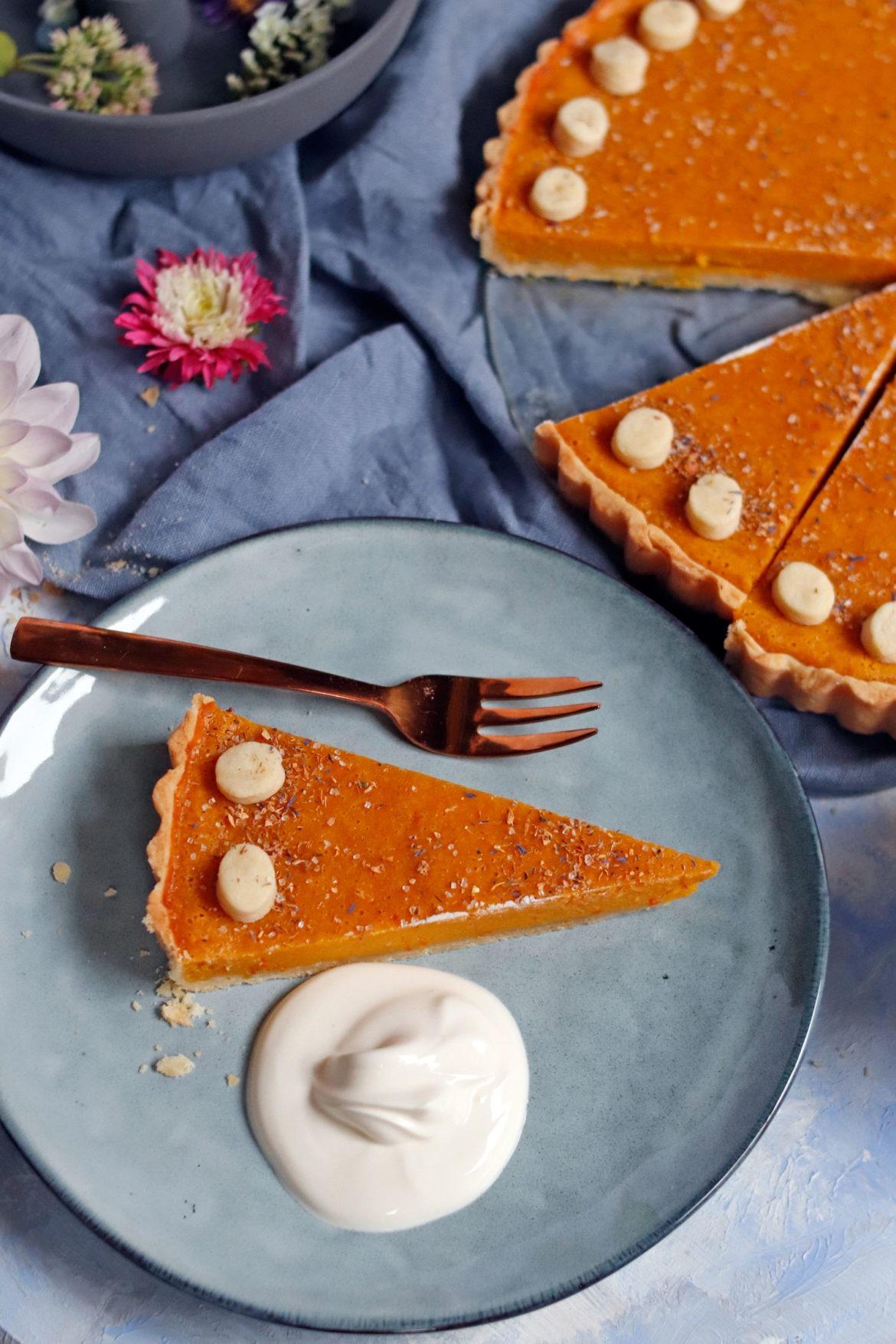 #kürbiskuchen #kürbisrezept Rezept Pumkin Pie saftiger Kürbiskuchen mit Zimt und Mürbteig. Der perfekte Kürbiskuchen für die Kürbissaison.